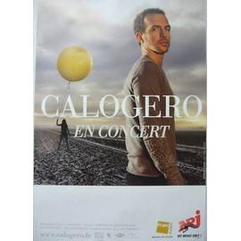 CALOGERO -  - AFFICHE / POSTER envoi en tube