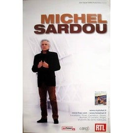 Michel SARDOU -  - AFFICHE / POSTER envoi en tube