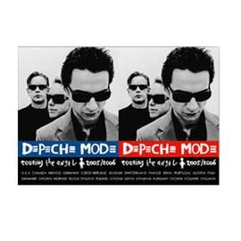 DEPECHE MODE - Lanscape - Touring - AFFICHE / POSTER envoi en tube