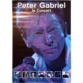 Peter Gabriel - - AFFICHE / POSTER envoi en tube