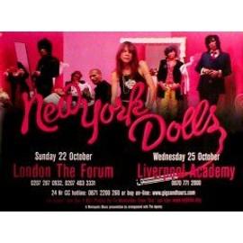 New York Dolls - Uk Tour 2006 - AFFICHE / POSTER envoi en tube