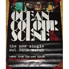 Ocean Colour Scene - - AFFICHE / POSTER envoi en tube