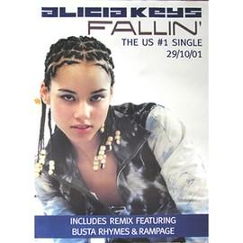Alicia Keys - Fallin' - AFFICHE / POSTER envoi en tube