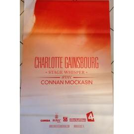 Charlotte GAINSBOURG - Stage Whisper - AFFICHE / POSTER envoi en tube