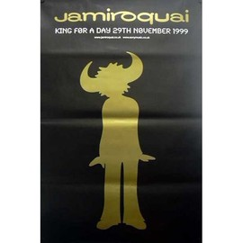Jamiroquai - King Of A Day - AFFICHE / POSTER envoi en tube