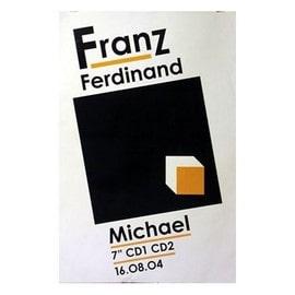 Franz Ferdinand - Michael - AFFICHE / POSTER envoi en tube