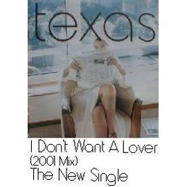 TEXAS - I don¿t want a lover 2001 (Q) (K) - AFFICHE / POSTER envoi en tube