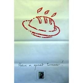 Paul McCartney - have A Great Summer! - AFFICHE / POSTER envoi en tube
