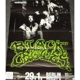The Black Crowes - Berlin - AFFICHE / POSTER envoi en tube