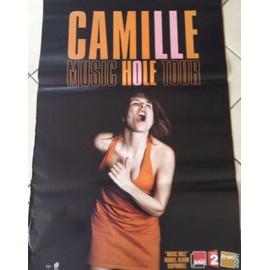 Camille - Music Hole Tour - AFFICHE / POSTER envoi en tube