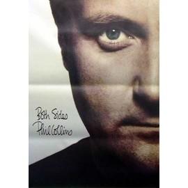 Phil Collins - Both Sides / Huge - AFFICHE / POSTER envoi en tube
