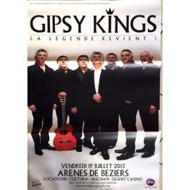 Gipsy Kings - La Légende - AFFICHE / POSTER envoi en tube