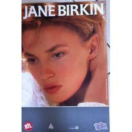 Jane BIRKIN - - AFFICHE / POSTER envoi en tube