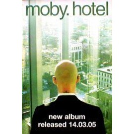 MOBY - Hotel (Q) - AFFICHE / POSTER envoi en tube