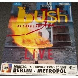 Bush - Live 1997 - AFFICHE / POSTER envoi en tube