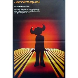 Jamiroquai - You Give Me Something - AFFICHE / POSTER envoi en tube