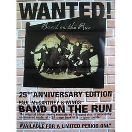 WINGS - Paul McCartney - Band On The Run - AFFICHE / POSTER envoi en tube