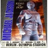 Michael Jackson - History World 1997 - Affiche / Poster Envoi En Tube