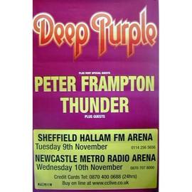 Deep Purples - Peter Framton - AFFICHE / POSTER envoi en tube