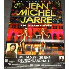 Jean-Michel JARRE - 1997 - AFFICHE / POSTER envoi en tube