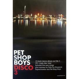 Pet Shop Boys - Disco 3 - AFFICHE / POSTER envoi en tube