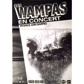Les Wampas - - AFFICHE / POSTER envoi en tube
