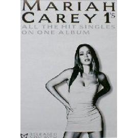 MARIAH CAREY - #1s - Original Promo Poster - AFFICHE / POSTER envoi en tube