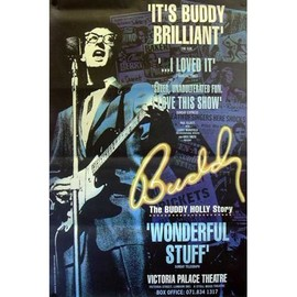 Buddy Holly - Wonderful Stuff - AFFICHE / POSTER envoi en tube
