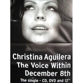 Christina AGUILERA - The Voice Within - AFFICHE / POSTER envoi en tube