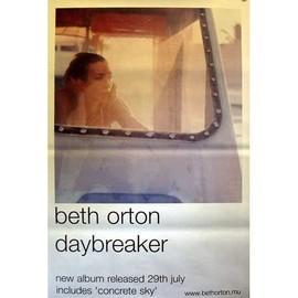 Beth ORTON - Daybreaker - AFFICHE / POSTER envoi en tube