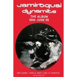 JAMIROQUAI - Dynamite - Original Promo Poster - AFFICHE / POSTER envoi en tube