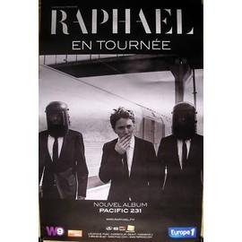 Raphael -  - AFFICHE / POSTER envoi en tube