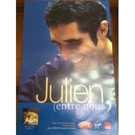 Julien CLERC - - AFFICHE / POSTER envoi en tube