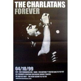 The Charlatans - Forever - AFFICHE / POSTER envoi en tube