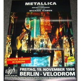 Metallica - - AFFICHE / POSTER envoi en tube