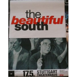 The Beautiful South - - AFFICHE / POSTER envoi en tube