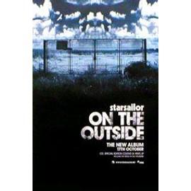 STARSAILOR - On The Outside - AFFICHE / POSTER envoi en tube