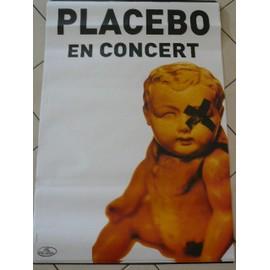 PLACEBO - - AFFICHE / POSTER envoi en tube