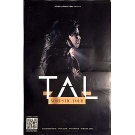 TAL - Acoustic  Tour - AFFICHE / POSTER envoi en tube