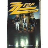 Zz Top - - Affiche / Poster Envoi En Tube