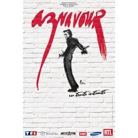 Charles Aznavour - En Toute Intimité - AFFICHE / POSTER envoi en tube