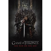 Game Of Thrones - You Win Or Die - - Affiche / Poster Envoi En Tube