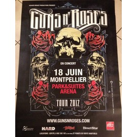 Guns N' Roses - Tour 2012 - AFFICHE / POSTER envoi en tube