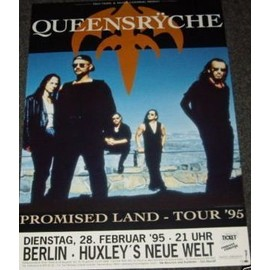QUEENSRYCHE - Promised Land 1995 - AFFICHE / POSTER envoi en tube