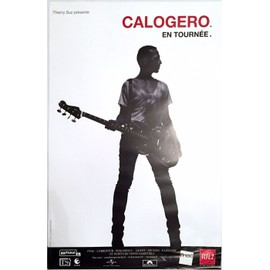 Calogero - en tournée - AFFICHE / POSTER envoi en tube