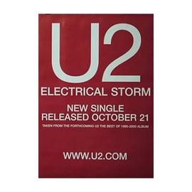 U2 - Electrical Storm - AFFICHE / POSTER envoi en tube