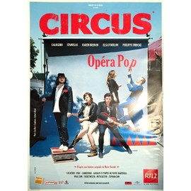 Circus - Calogero - Stanislas - AFFICHE / POSTER envoi en tube