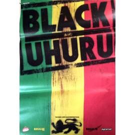 Black Uhuru - - AFFICHE / POSTER envoi en tube