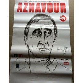 poster charles aznavour affiches de charles aznavour posters affiche murale. Black Bedroom Furniture Sets. Home Design Ideas