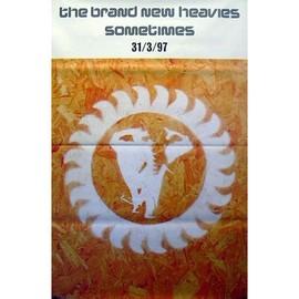 Brand New Heavies - Sometimes - AFFICHE / POSTER envoi en tube
